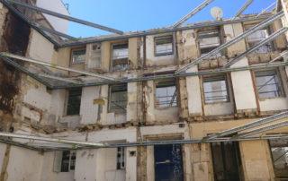 contenção de fachada systema vertical