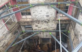 contenção de fachada SHORFLEX®