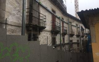 contenção de fachada