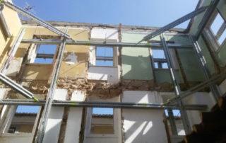 contenção de fachada sistema SHORFLEX®