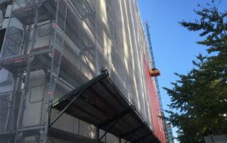 elevadores monta cargas segurança obras